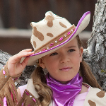 Rhinestone Cowgirl Child Hat 100-185739