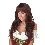 Coquette (Brunette) Adult Wig 100-213147
