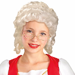 Colonial Girl Child Wig 100-215807
