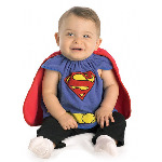 Superman Deluxe Bib Costume CU885106
