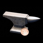 Damascus Mini Anvil
