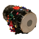 Banjira Dhol with Synthetic Heads 14 x 25 Inch Drum