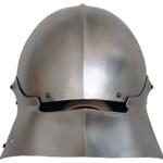 German Sallet Fixed Tail Medieval Helmet