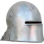 Sallet Helm Tall Visor Articulated Tail GH0171