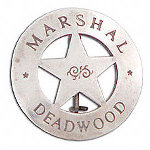 Marshal Deadwood Badge OH3007