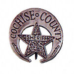 Cochise County Sheriff Western Badge OH3026