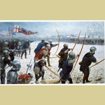 The Battle of Towton Medieval Art Print TOW-30