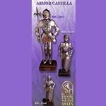 Miniature Castle Armour 11 1/2""