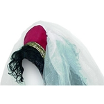 Medieval Headpiece with Veil Velveteen Y-200V
