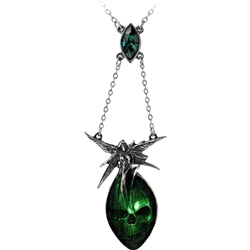 Absinthe Fairy Necklace Pewter Alchemy P526