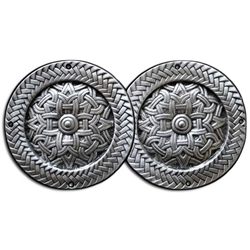 Celtic Viking Pewter Cloak Clasp 130.0947