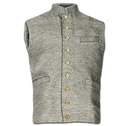 Civil War Era Jean Wool Vest - Cotton Lined