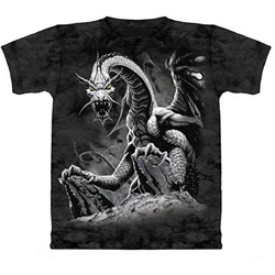 Black Dragon Adult Plus Size T-Shirt 43-1012521