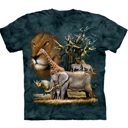 African Collage Adult 3X-Large T-Shirt 43-1030620