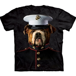 Bulldog Marine Adult T-Shirt 43-1034870