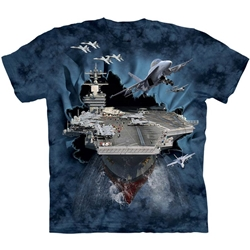Aircraft Carrier Adult 3X-Large T-Shirt 43-1082630