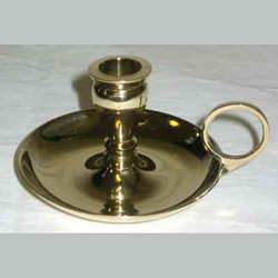 Brass Chamberstick Chime candle holder 45-CH81