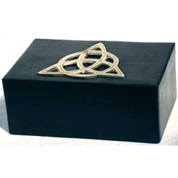 Handcrafted Triquetra Tarot Deck Holder 45-FB46T
