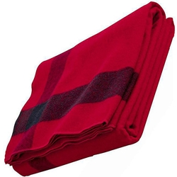 Civil War Blanket Reproduction - Red Artillery 84 x 70 inches