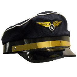 Airplane Pilot Adult Hat 100-125257