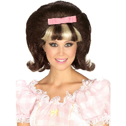 60's Princess Brown/Blonde Combo Wig 100-144591