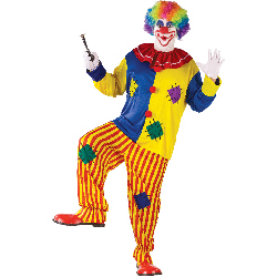 Big Top Clown Adult Plus Costume 100-188312