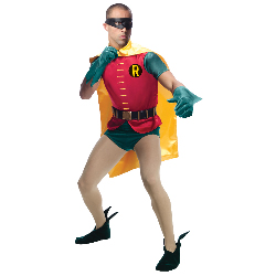 Batman Classic 1966 Series Robin Adult Costume 100-217492