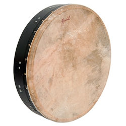 Tunable Mulberry Bodhran - T-Bar 18 x 3.5in - Black