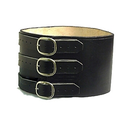 Roman Gladiator Leather Wide Kidney Belt Plus Size