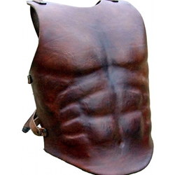Leather Muscle Breastplate Deluxe