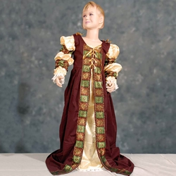 Childs Briana Mediaval Gown  TT-114